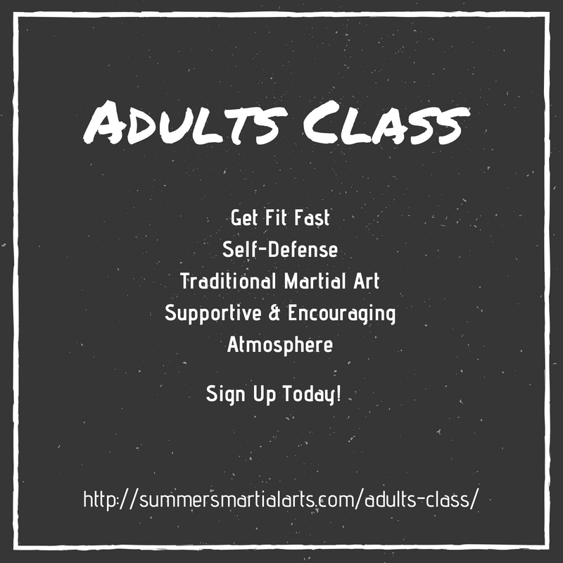 adults class, get fit fast, self-defense, traditional martial arts, supportive and encouraging atmosphere, bellefonte, state college, summers martial arts