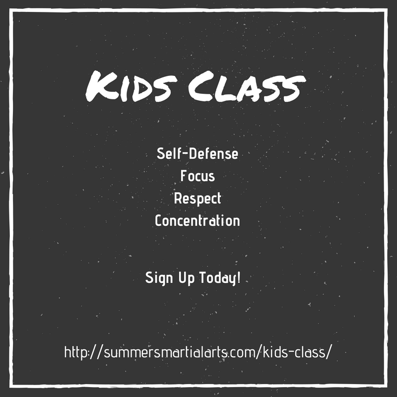 kids class, self-defense, focus, respect, concentration, bellefonte, state college, summers martial arts