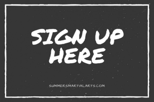 sign up, sale, bellefonte, summers martial arts