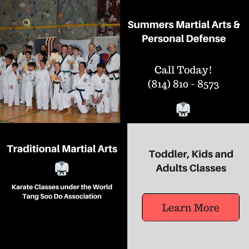 Bellefonte, karate, marital arts, tang soo do, world tang soo do association, kids, adults, toddler