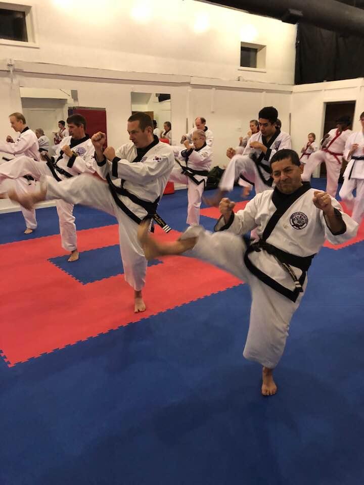 high rank class, advanced class, red belt and above