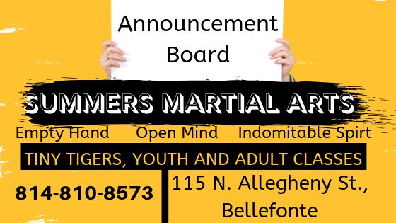 announcement board