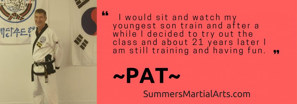 pat's testimonial